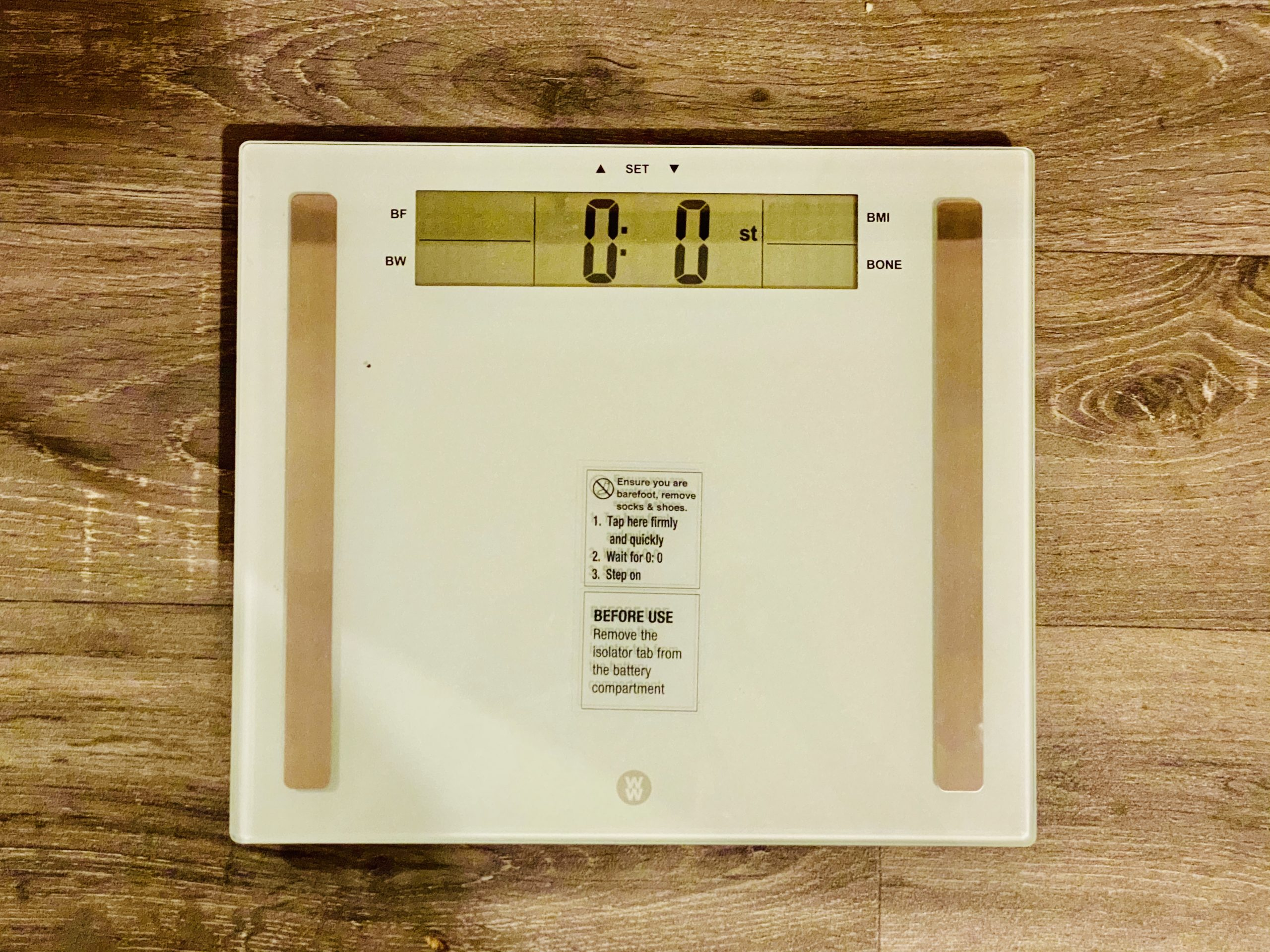 scales measuring weight